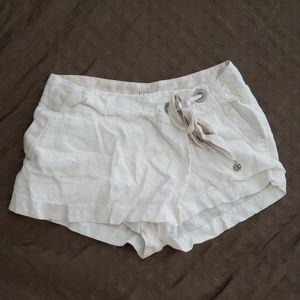 Summer Bebe Linen/ Silk Shorts